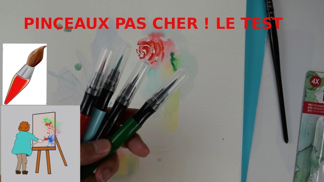 Je Teste Les Pinceaux Action A Reserve D Eau Enfin Presque