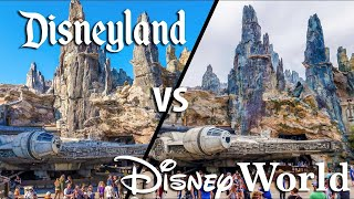 Top 7 Disney World vs Disneyland Details -  Star Wars Galaxy's Edge