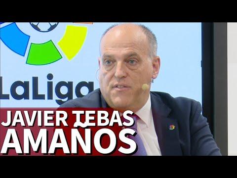 Javier Tebas, presidente de LaLiga, analiza la 'Operación Oikos' | Diario As