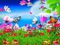 """"""" Бабочки На Цветущем Лугу """" Произведение Из Книги """" Любовь После Полудня """"  Апрель, 2018"""