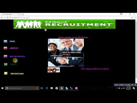 ONLINE RECRUITMENT SYSTEM IN ASP.NET