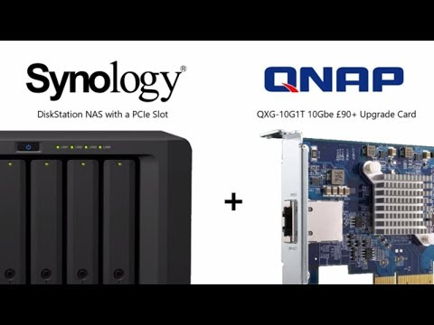 Synology NAS and QNAP PCIe 10Gbe Card - Can you Install the QNAP QXG-10G1T in a Synology NAS