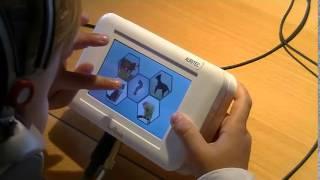 AuriCheck- dépistage auditif avec sons d'animaux