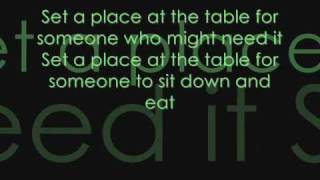 Download Set at Place at Your Table Lyrics