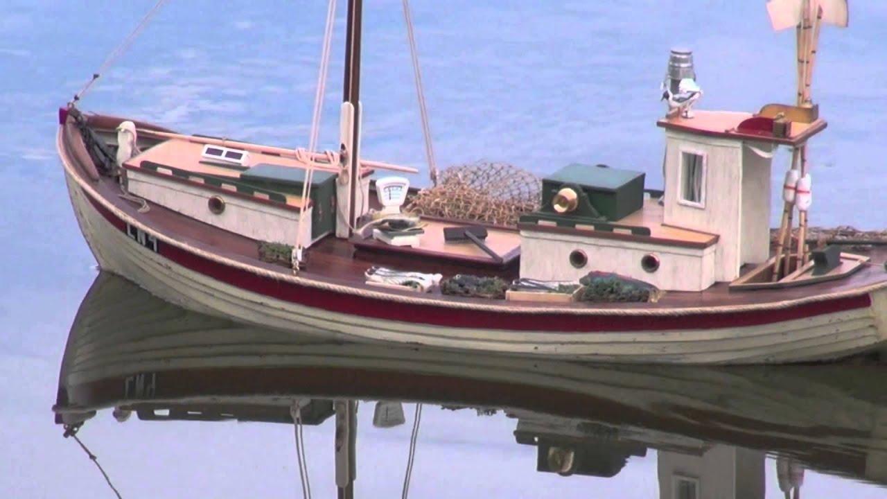Billing boats bent coast fishing model boat youtube for Model fishing boats