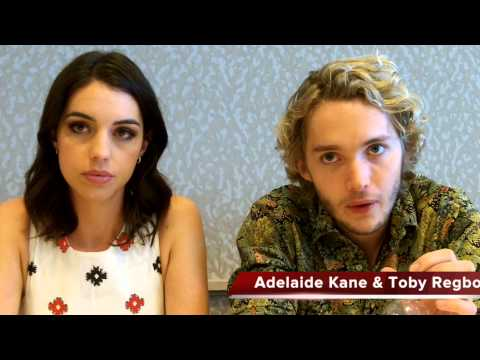 Adelaide Kane and Toby Regbo Talk REIGN Season 2