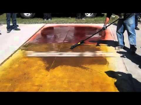 Concreto pulido youtube for Cemento pulido precio