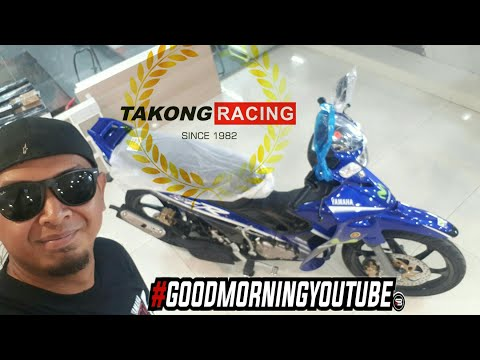 YAMAHA Y125ZR MOVISTAR 1st LOOK | TAKONG RACING | VLOG #76A