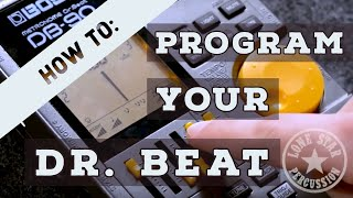 How to Program Your DB-90 Dr. Beat Metronome's Loop Function