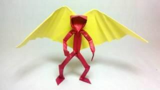 Origami Angel's Wings (by Jo Nakashima)