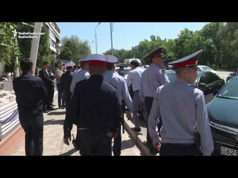 Kazakh Security Forces Crackdown On Land Code Protests