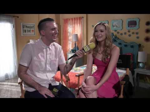 Greer Grammer @ MTV's Awkward Set Visit  AfterBuzz TV
