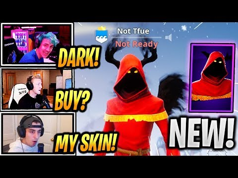 TFUE & STREAMERS React *NEW* CLOAKED SHADOW SKIN + SHADOW WINGS! - Fortnite Epic & Funny Moments