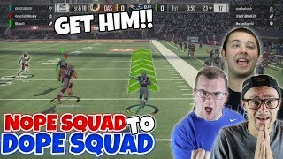 ONLY 3 POINTS DECIDED THEIR SUPERBOWL!! CAN WE KNOCK THEM OUT?? Madden 18 Squads