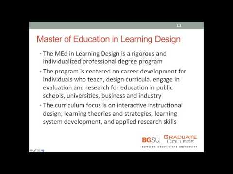 BGSU Master's and PhD Programs in Technology Management Webinar 2 3 16, 8 30 AM