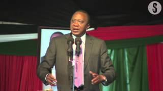 Uhuru scolds Raila over protests at IEBC offices