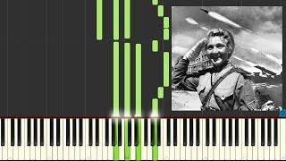 Катюша. Урок игры на фортепиано.