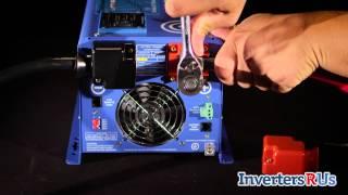 Aims PICOGLF20W12V120V 2000 Watt Pure Sine Wave Power Inverter Charger