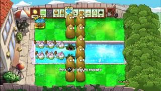 Plants Vs Zombies Playstation Vita - 20 Below Zero Trophy Guide Walkthrough