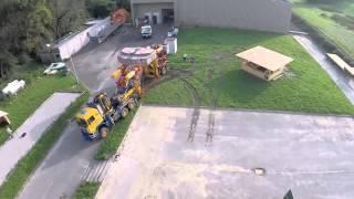 Aravis Levage, test dévers 35 tonnes