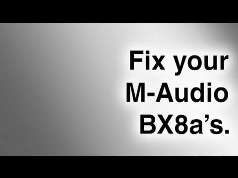 fix your maudio bxa's, wiring diagram