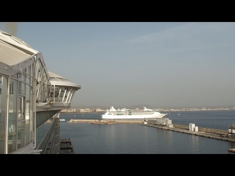 Harmony of the Seas: Palma De Mallorca, Spain Arrival & Departure (with Rhapsody of the Seas)