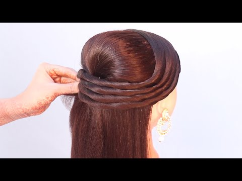 3-open-front-hairstyle-for-wedding-|-easy-hairstyle-|-puff-hairstyle-|-cute-hairstyle-|-hairstyle