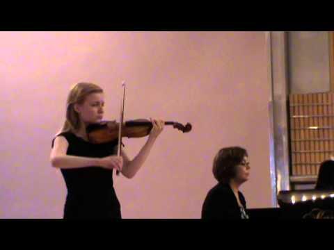 Aram Khachaturian: Sabre Dance (violin)