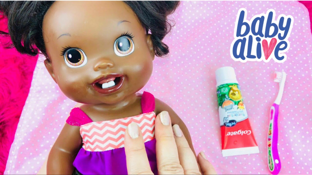 Baby Alive Baby's New Teeth Twin (Melisa) Morning Routine ...  |Baby Alive New Teeth