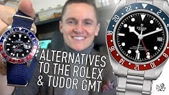 10 Affordable Non-Homage Alternatives To The Rolex & Tudor Black Bay GMT Watch - $100 to $5000+