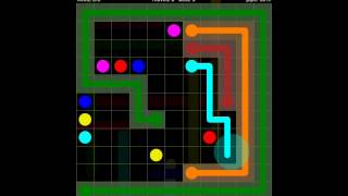 Flow Free Extreme Pack 2 11x11 Level 7