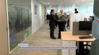 Yvelines | Guyancourt : Inauguration des nouveaux locaux d'Yvelines Numériques