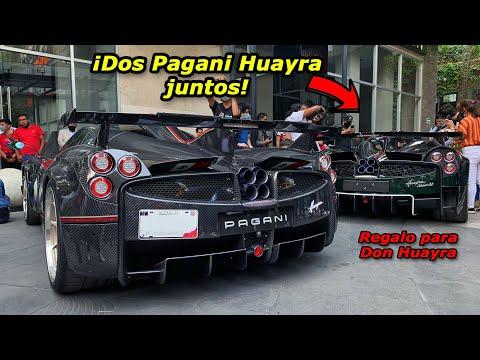 🎁 Le doy una sorpresa a Don Huayra | Nuevo Pagani Huayra BC Roadster en México 🇲🇽