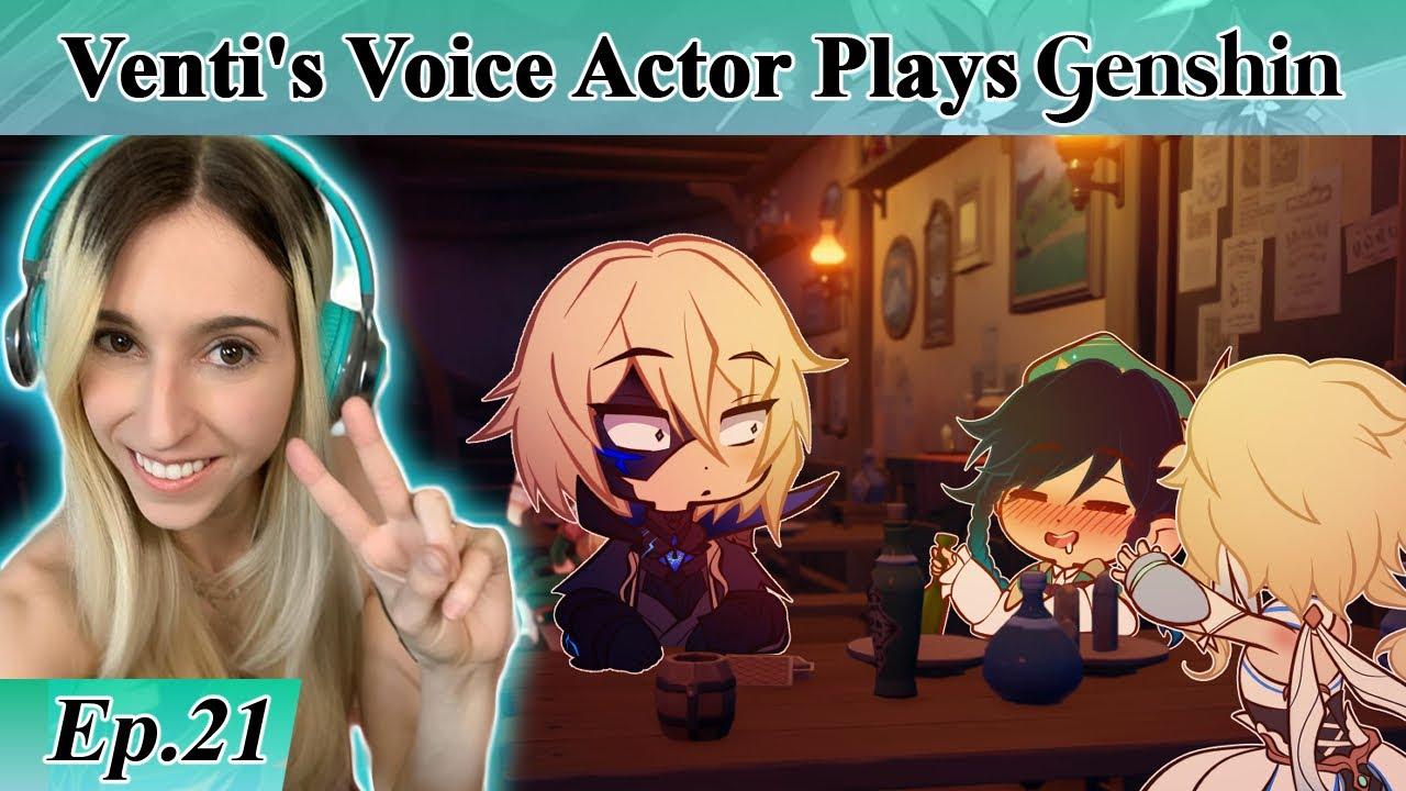 Venti's English Voice Actor plays GENSHIN IMPACT! Part 21 - Dain's Leaf
