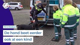 Rottweiler rukt stuk hoofdhuid van 5-jarige meisje