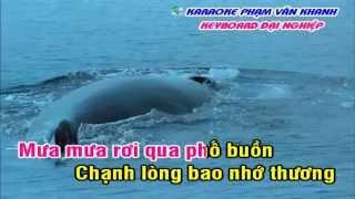 [Karaoke Nhạc Sống] Mưa Đêm Tỉnh Nhỏ