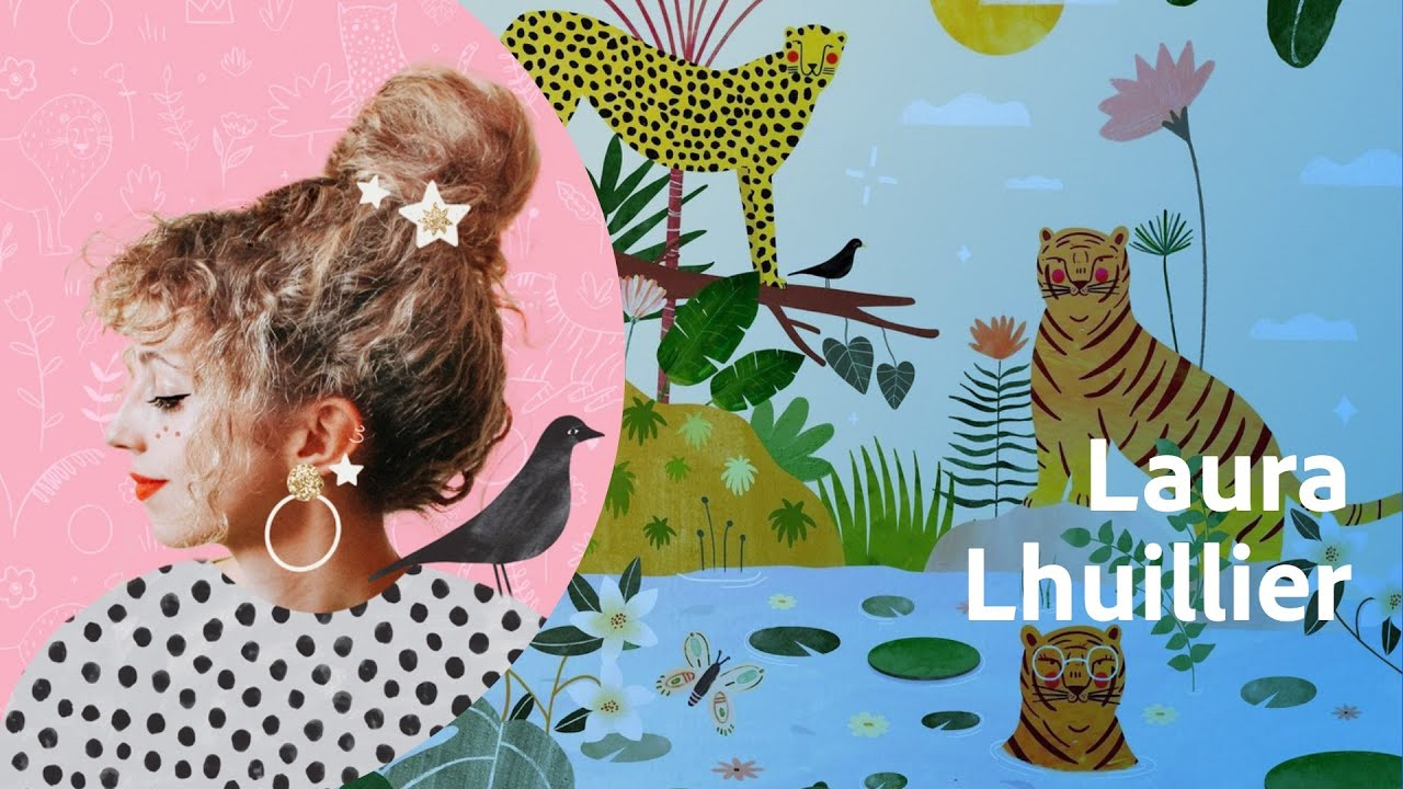 Adobe Live | Illustration avec Laura Lhuillier | Adobe France