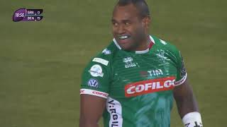 Highlights 6° round di ERChallenge Cup: Grenoble 7 Benetton Rugby 39