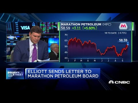 Elliott seeks to split Marathon Petroleum three ways