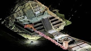 Hallan el inframundo bajo Teotihuacán