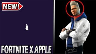Fortnite x Apple Collaboration.. Possible Skin CONCEPT!