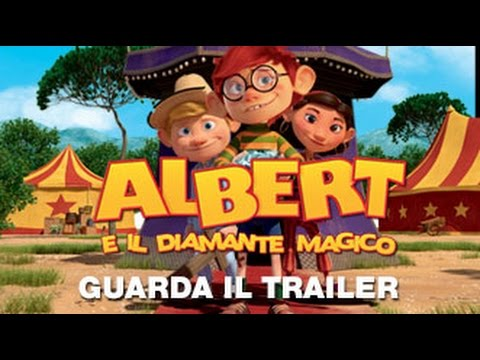 ALBERT E IL DIAMANTE MAGICO - Trailer Ufficiale Italiano streaming vf