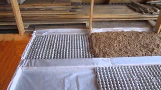 утепление и звукоизоляция потолков каретками из под яиц(, 2014-06-02T15:38:47.000Z)