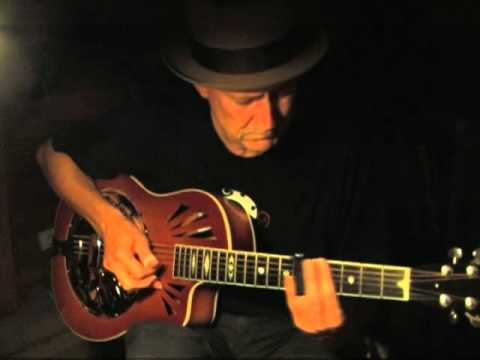 "Delta Blues  Slide Guitar  Instrumental in Open G   ""Blue Paloma"""