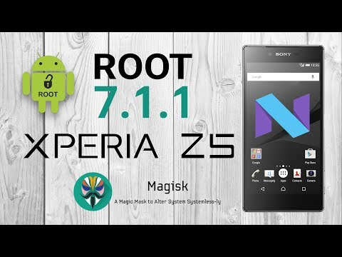 How to ROOT the Xperia Z5 Android 7.1.1 [32.4.A.1.54] NOUGAT