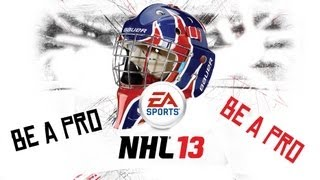 Český Let´s play | NHL 13 | Be a Pro | Golman fail! | Xbox 360