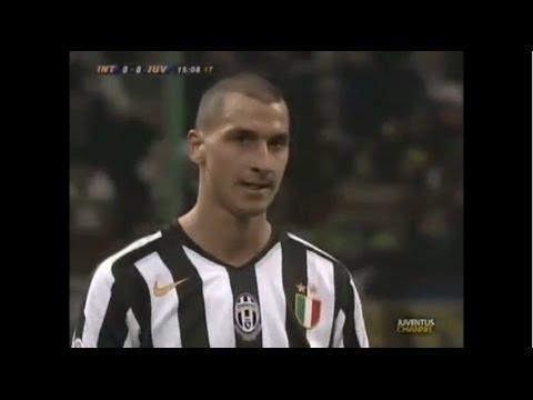 Zlatan Ibrahimovic vs INTER in 2005-06 Serie A Round 25 (12.02.2006)