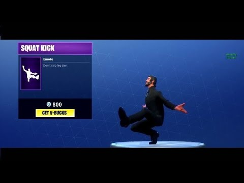 Fortnite | Squat Kick Trap Remix