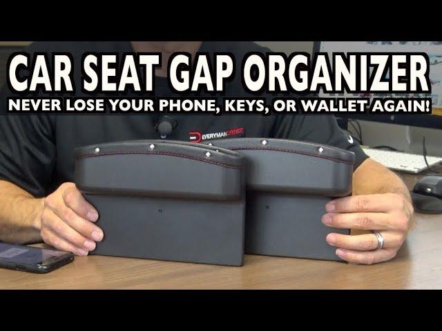 Car Seat Gap Organizer On Everyman Driver Youtube