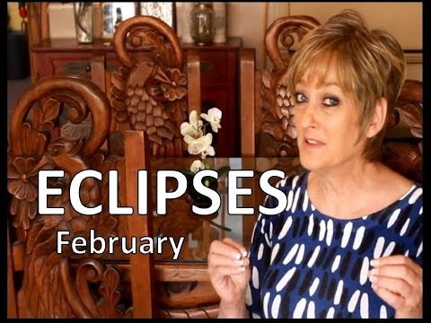 ECLIPSES of February 2017 / Lunar Eclipse Feb. 10th, Solar Eclipse Feb. 26th